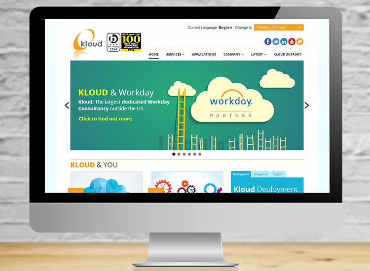 Kloud website